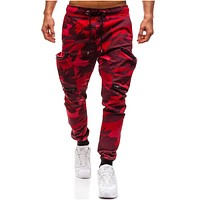 Men Joggers 2018 Casual Pants Men Brand Clothing Autumn Multi-Pocket  Camouflage Pants Elastic Male Trousers Mens Joggers 3XL