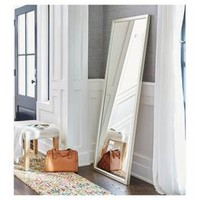Rectangle Leaner Floor Mirror Silver - Threshold™