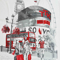 Duvet Cover London vintage. Made to order.
