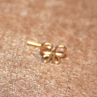 Butterfly Nose Stud, Butterfly tragus cartilage Stud Tiny Gold Nose Ring Tiny Butterfly Nose Ring Butterfly Nose Jewelry,Rook,Daith,Helix