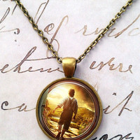 Lord of the Rings Necklace, The Hobbit, Bilbo Baggins, LOTR T726