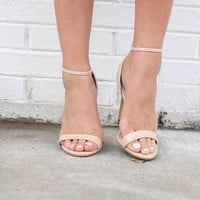 The Way Nude Duo Strap Heel