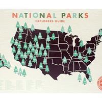 National Park Checklist Map