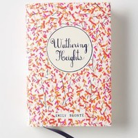 Mr. Boddington's Penguin Classics, Wuthering Heights by Anthropologie Red One Size Gifts