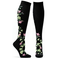 Florals Jasmine Knee High Sock