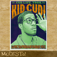 Kid Cudi Screenprinted Poster by MODESTo on Etsy