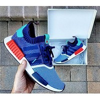 ADIDAS NMD R1 PK X PACKERS SHOES men and women Casual running shoes