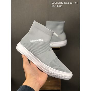 "Converse Chuck Taylor Hi""Sock"" cheap mens and womens Fashion Canvas Flats Sneakers Sport Shoes"