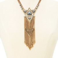 Tribal-Inspired Statement Necklace