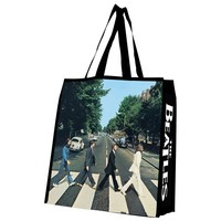 Beatles Abbey Road Large Recycled Shopper Tote Bag