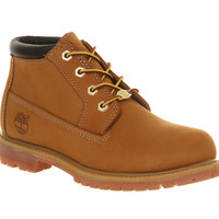 Timberland Nellie Chukka Double Waterproof Boots Wheat Nubuck - Ankle Boots