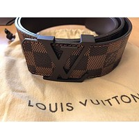 DCCK Men's Louis Vuitton Belt Brown size is 95/38