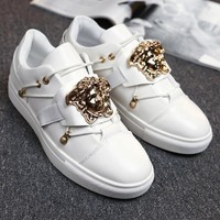 Versace Fashion Men Casual Sport Running Shoes Sneakers White I13812-1