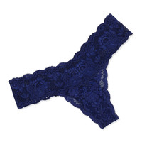 Never Say Never Cutie Low-Rise Thong, Twilight, Size: ONE SIZE, TWILIGHT - Cosabella