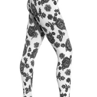 Lysse Lace Floral Tight Ankle Legging