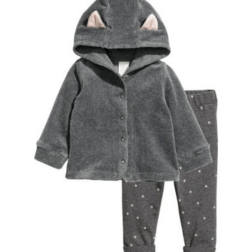 H&M Hooded Jacket and Leggings $34.99