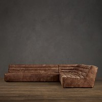 Chelsea Leather Sectionals | Restoration Hardware