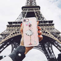 Lovely iPhone 7 & 7 Plus Case (Je T ?aime Pattern) by Casetify