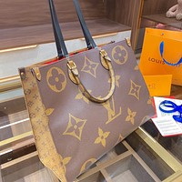 Louis Vuitton high-volume tote shopping one-shoulder tote for women