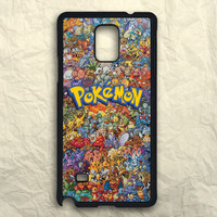 Pokemon All Monster Character Samsung Galaxy Note 3 Case