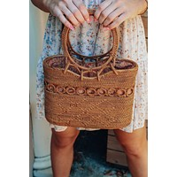 Carry Me Out Purse: Natural