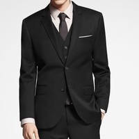 STRETCH WOOL PRODUCER SUIT JACKET