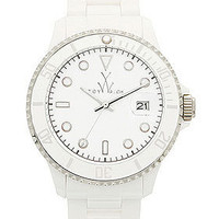 Plasteramic White Watch Collection | ToyWatch USA