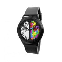 Time-Peace Activate Your Brain Analog Wrist Watch