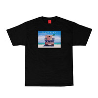 Visual Lifeguard Tee In Black