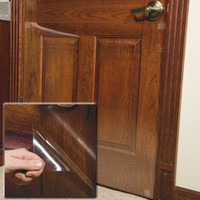 Door Shield scratch protection for doors at Drs. Foster and Smith