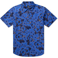 Stussy Blue Gold Flake Shirt   HYPEBEAST Store. Shop Online for Men's Fashion, Streetwear, Sneakers, Accessories
