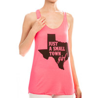Small Town Girl TX, Hot Pink