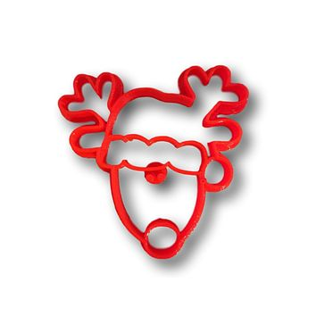 Christmas Reindeer Cookie Cutter