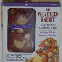 The Velveteen Rabbit Kit : Plush Toy and Illustrated Book by Margery Williams (2