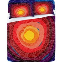 DENY Designs Home Accessories | Raven Jumpo Tie Die Madness Sheet Set