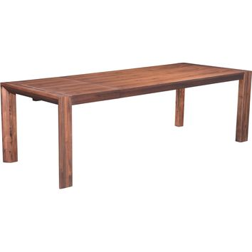 Perth Extension Dining Table, Chestnut