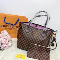 Louis Vuitton LV Lattice Neverfull MM BagLouis Vuitton LV Lattice Neverfull MM Bag