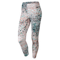 Women's Nike Cropped Club Allover Print Leggings