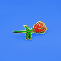 Red Rose Pins