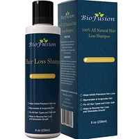 Hair Loss Shampoo for Men & Women – Best Topical Hair Regrowth & Prevention – Use to Improve Thinning Hair...
