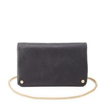 Chain Strap Slouchy Cross-Body Purse by Charlotte Russe