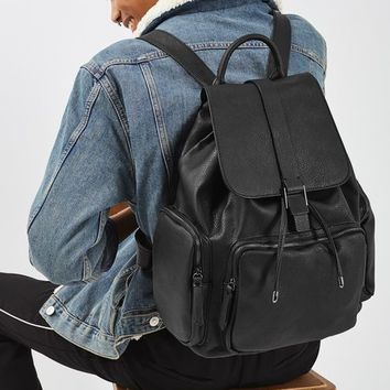 PU Sporty Backpack - Bags & Wallets - Bags & Accessories