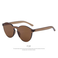Clear Fram  Women Sunglasses