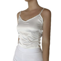 Satin Backless Camisole