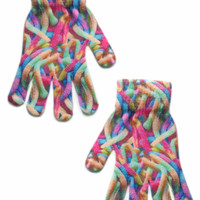 Gummy Worm Gloves