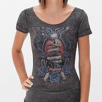 Affliction Inked Dead Man's Chest T-Shirt
