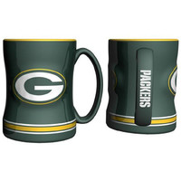 Green Bay Packers NFL Coffee Mug - 15oz Sculpted (Single Mug)