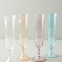 Carra Flutes, Set of 4