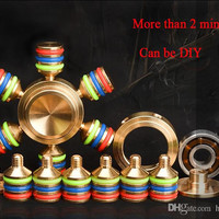 1 pcs hexagon Metal Alloy Fashion EDC Toys Hand Spinner Professional Fidget Spinner Autism and ADHD 30pcs