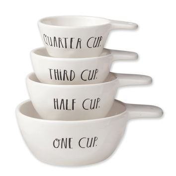 Rae Dunn Stem Print Measuring Cups
